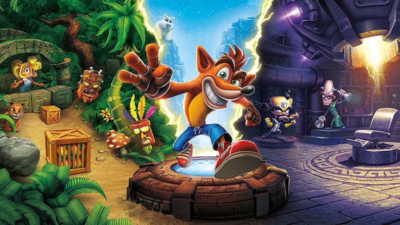 Сборник Crash Bandicoot N. Sane Trilogy выйдет на PC, Xbox One и Switch на 12 дней раньше