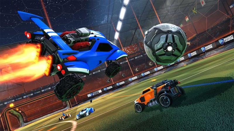 Кроссплатформенные отряды появятся в Rocket League этим летом