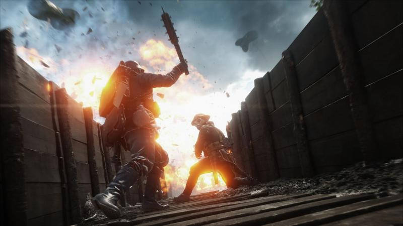 Пасхалка изBattlefield 1 раскрыла дату показа Battlefield 5