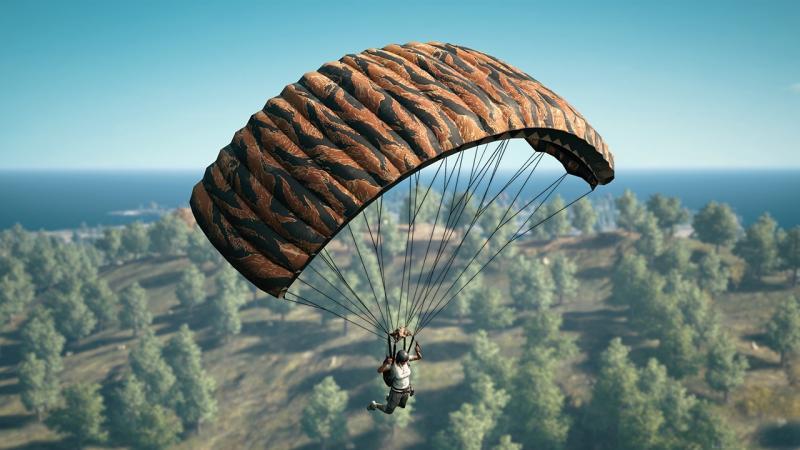 Скины для ваших парашютов - уже в тестовом клиенте PUBG с новым патчем