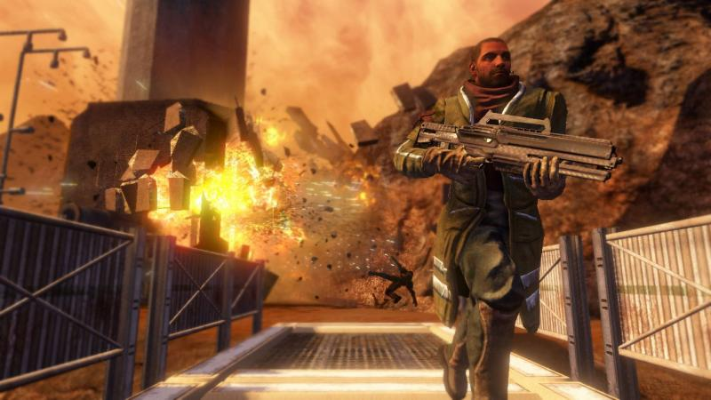Объявлена дата релиза ремастеринга Red Faction: Guerrilla Re-Mars-tered