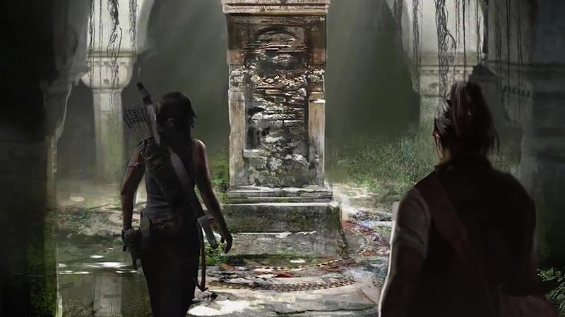 Игровая карта и интерфейс в новом трейлере Shadow of the Tomb Raider