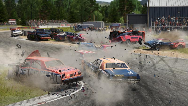 Новый разрушительный трейлер Wreckfest