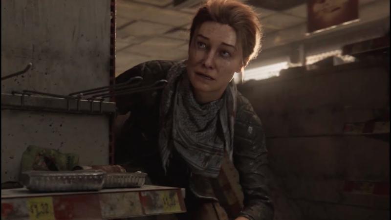 Представлена Хизер - черветрый персонаж Overkill's The Walking Dead