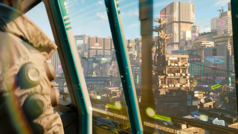 Cyberpunk 2077 наE3 2018 представили нановейшем игровомПК