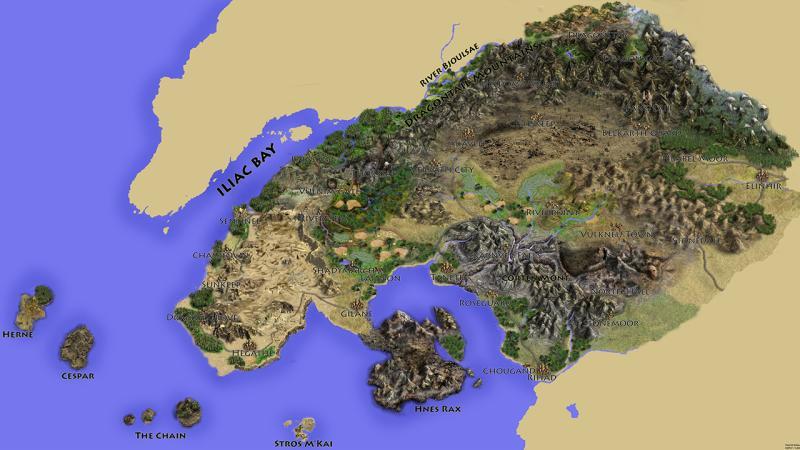 Bethesda уже точно определилась с местом действия The Elder Scrolls 6