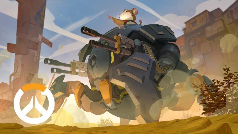 Новым героем Overwatch оказался хомяк в боевом мехе