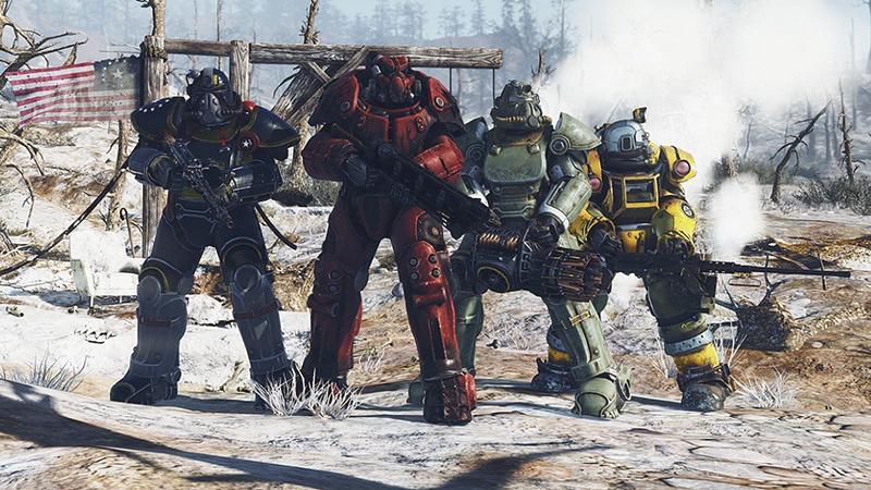 Fallout 76 неполучит режим кроссплатформенной игры из-за Сони