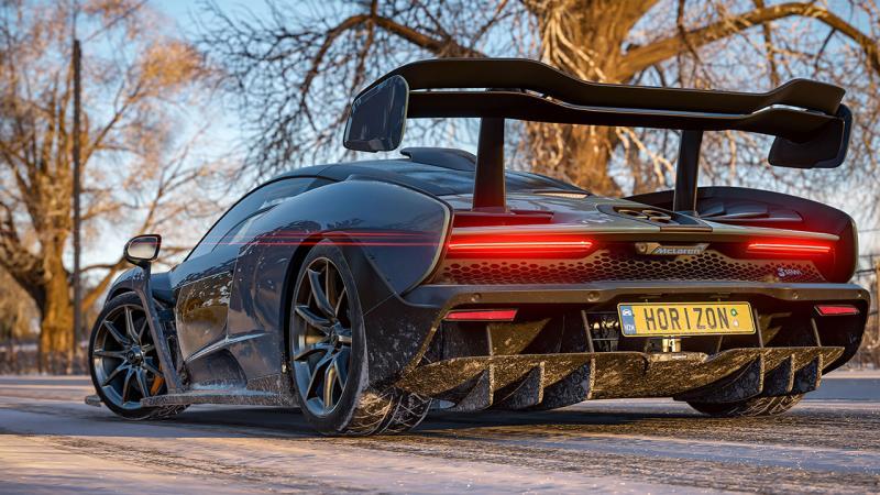 Впечатляющий зимний геймплей Forza Horizon 4