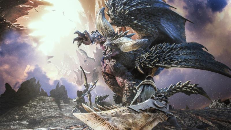 Дебютный геймплей Monster Hunter: World на PC