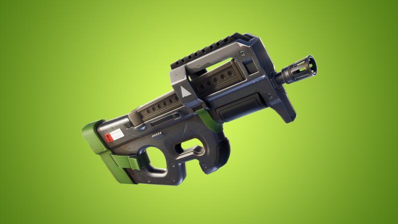 Epic понерфила только что добавленный в Fortnite: Battle Royale пистолет-пулемет