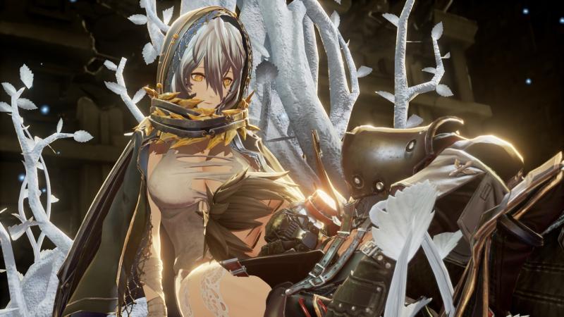 Новый геймплей Code Vein с участием компаньонки Ио