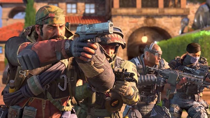 """""""Королевская битва"""" в трейлере беты Call of Duty: Black Ops 4"""
