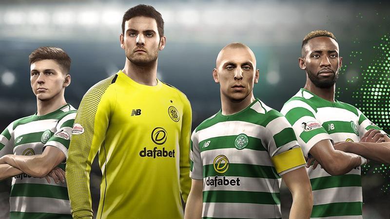 PES 2019 заручилась поддержкой двух шотландских футбольных клубов