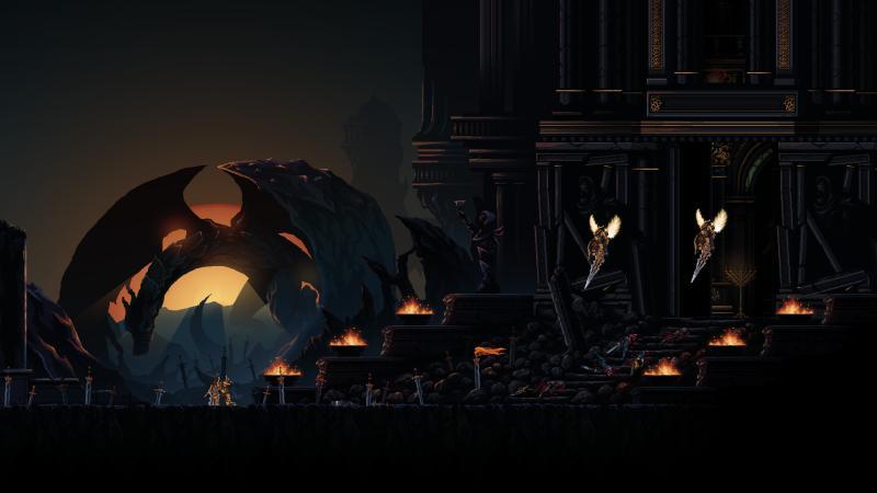 Хардкорный геймплей в новом трейлере Death's Gambit