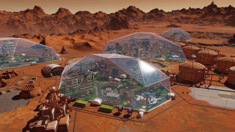 Анонсированы бесплатные дополнения Da Vinci и Sagan для Surviving Mars
