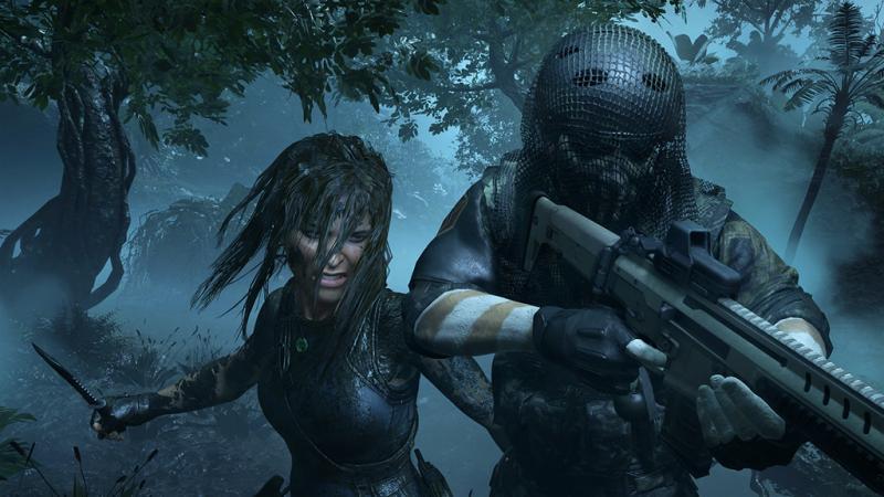 Бесшумные убийства в исполнении Лары Крофт в трейлере Shadow of the Tomb Raider