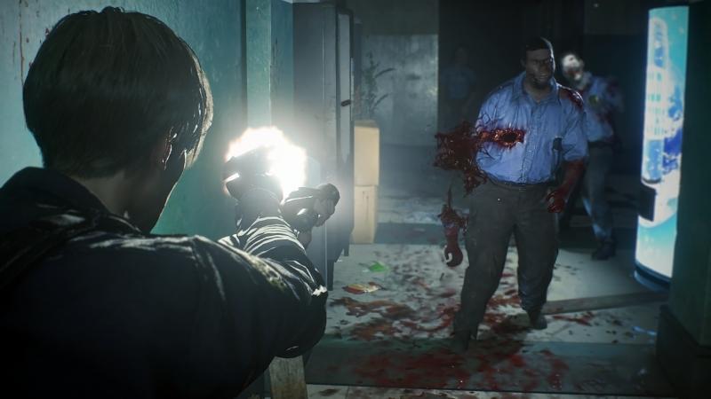 Capcom рассматривала камеру с видом от первого лица для ремейка Resident Evil 2