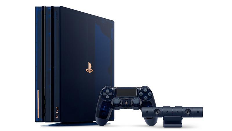 Представлено лимитированное издание PS4 Pro в честь 500 миллионов проданных консолей