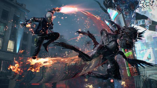 Devil May Cry 5 получит тренировочный и фоторежим