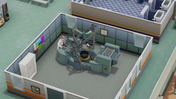 Официальная функция копирования комнат появится в Two Point Hospital в обновлении