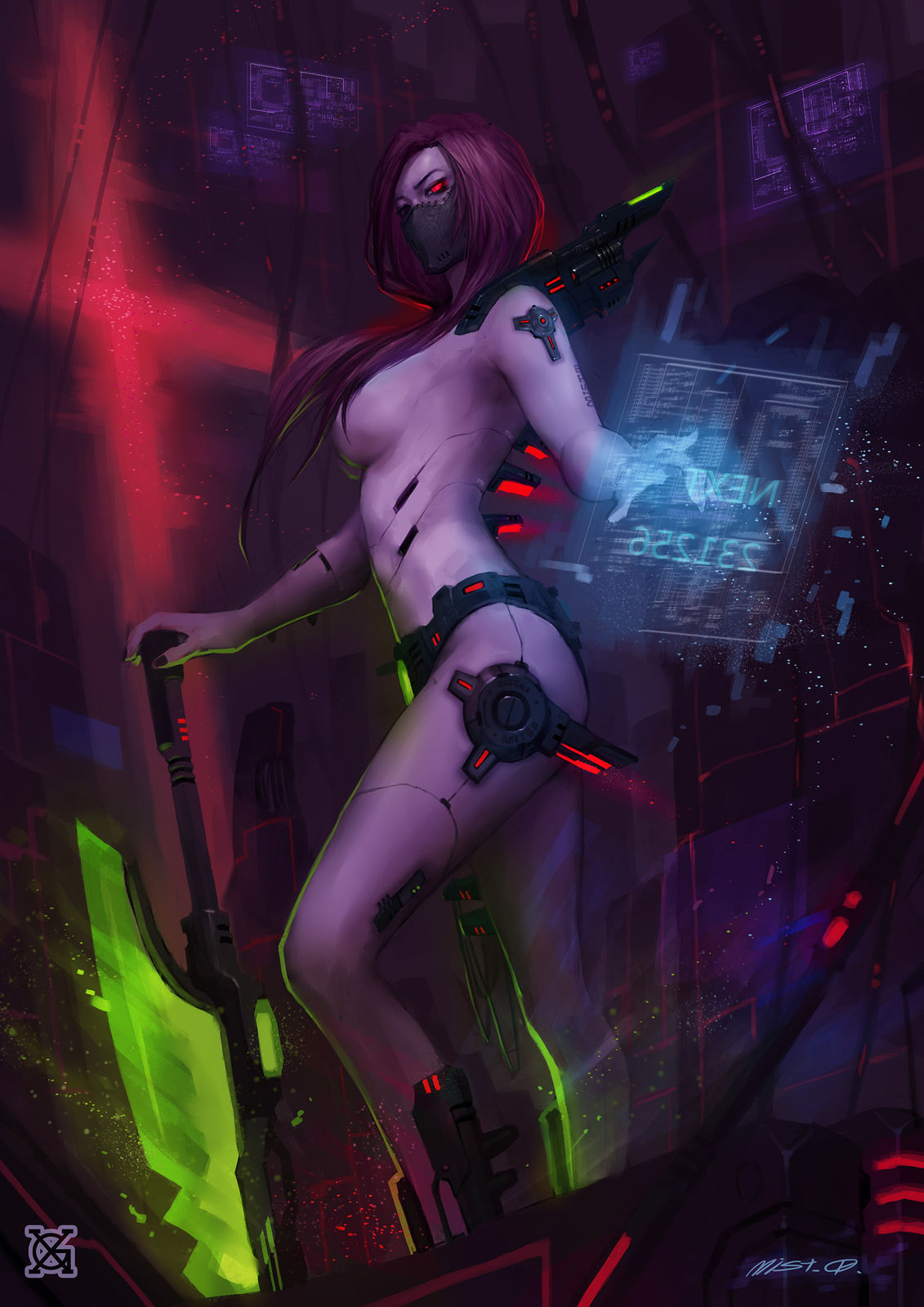 Nude sci-fi fantasy art sexy movie