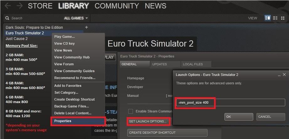 Euro truck simulator 2 как сделать чтобы не лагал