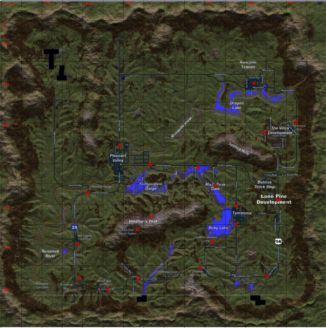 Карта H1Z1 или как найти своих друзей. - Форумы - обсуждение ...