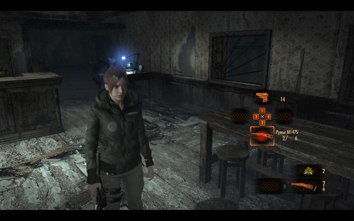 "Resident Evil: Revelations 2 ""Claire в зимней куртке (Story mode и Raid mode) замена модели родео"""