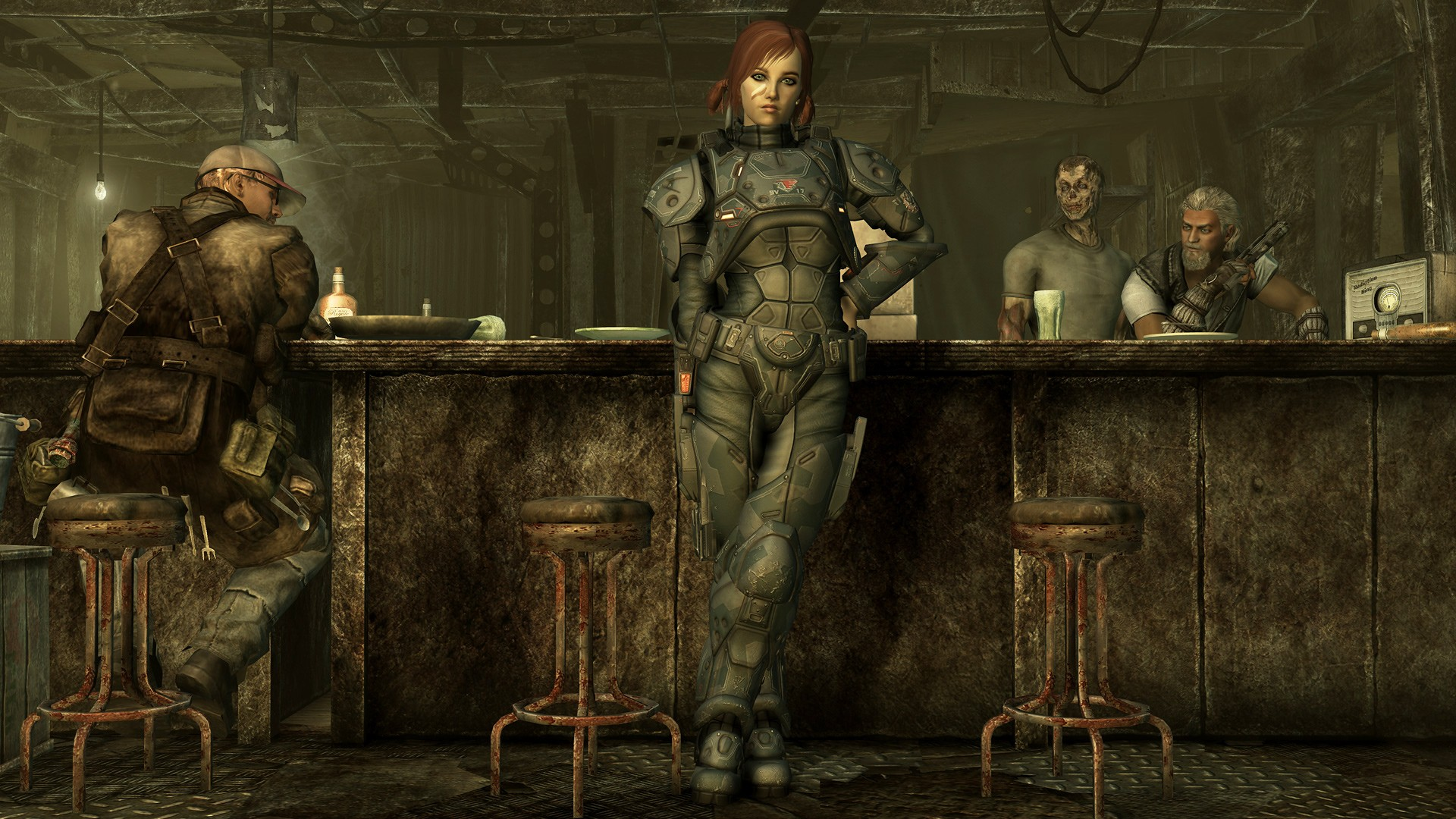 Fallout 3 mods saloon girls erotic gallery