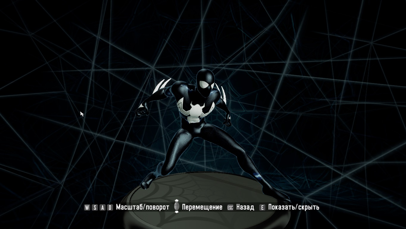 spiderman shattered dimensions quot2099 new black suit