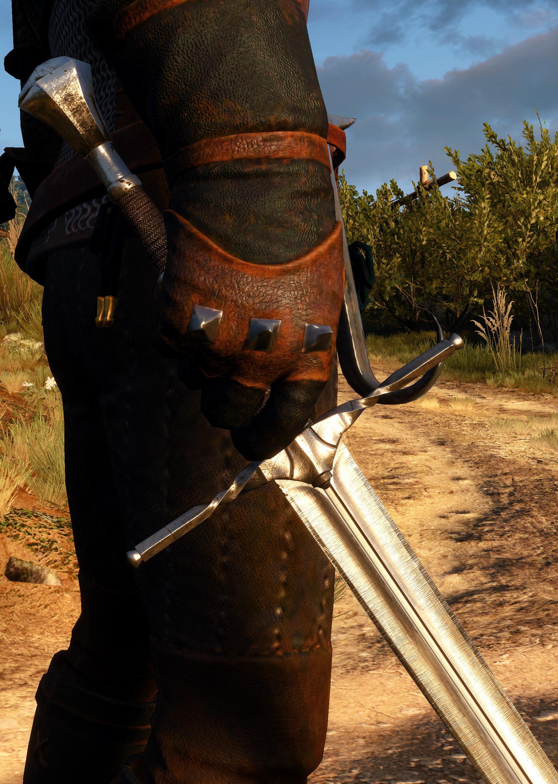 Как сделать мечи в ведьмаке 3 71