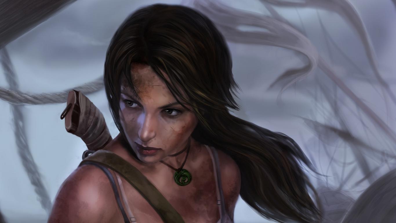Lara croft hair nude download
