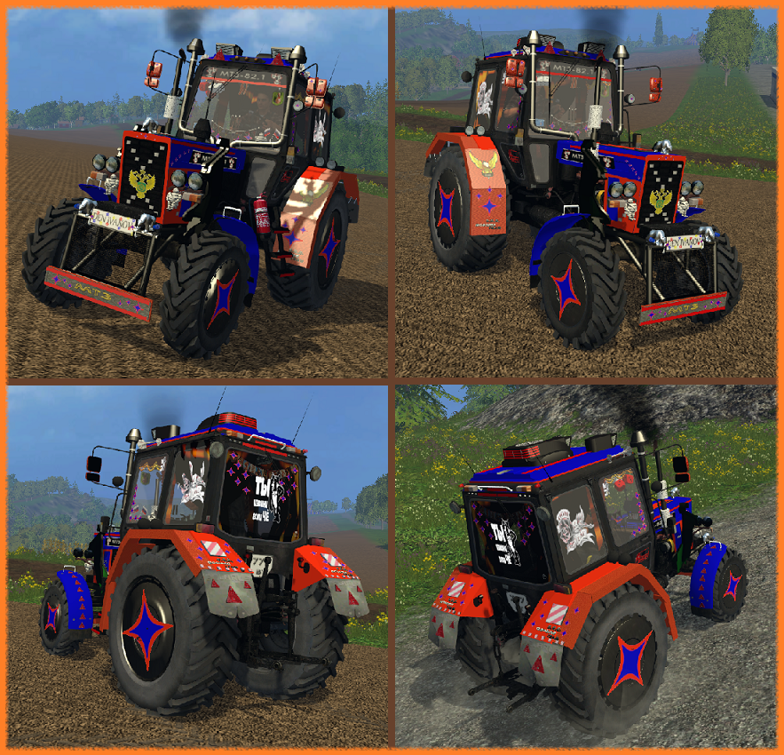 Фото тюнинга тракторов своими руками 729