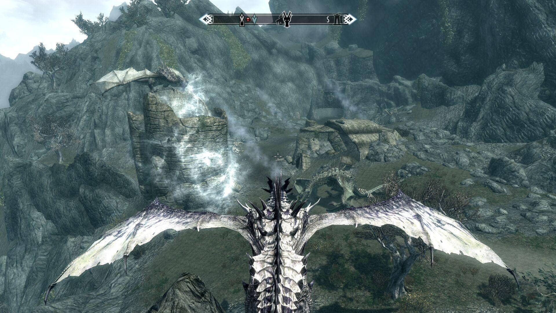 Скачать моды на скайрим раса драконов