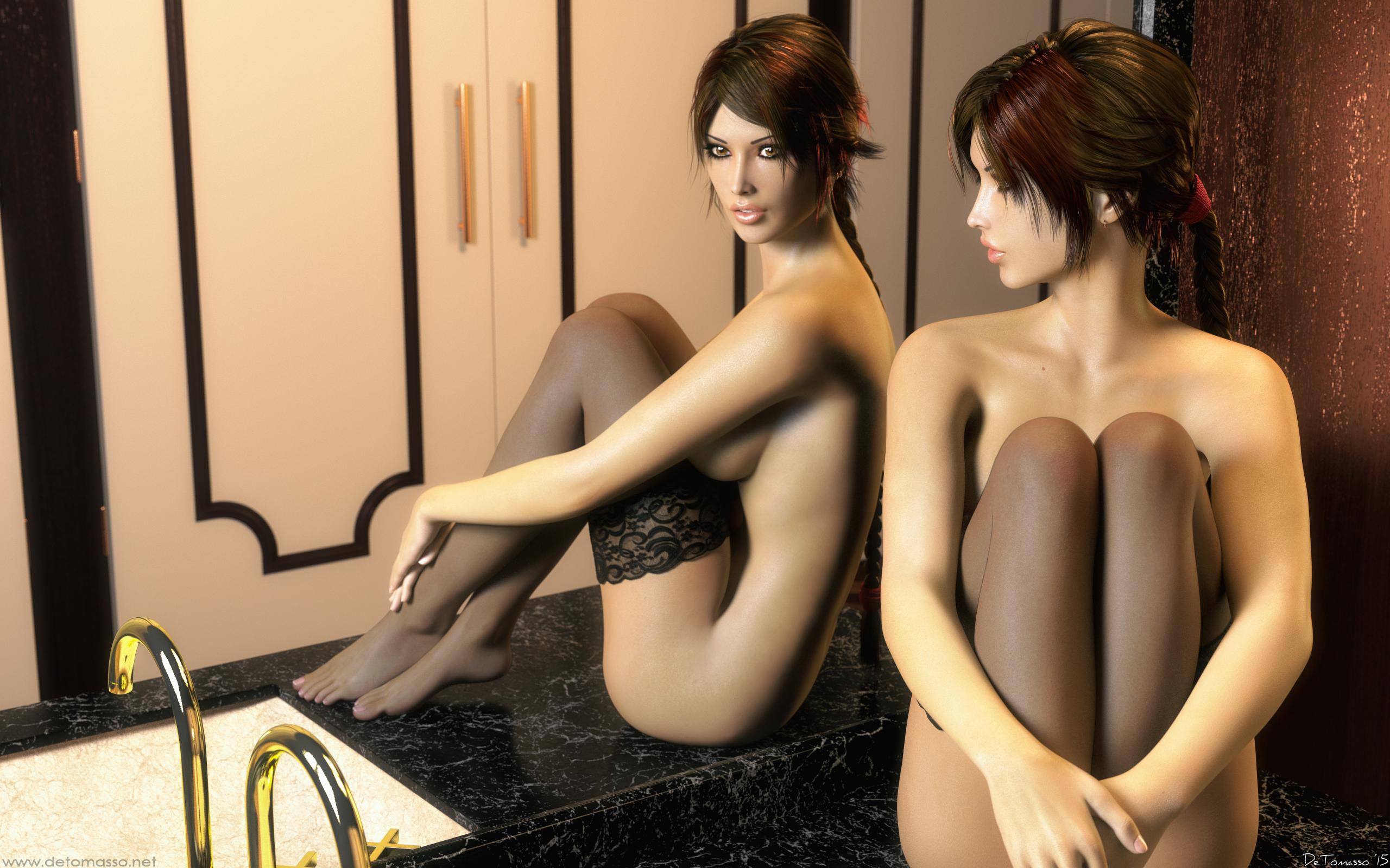 Lara croft 3d erotic sexy scenes