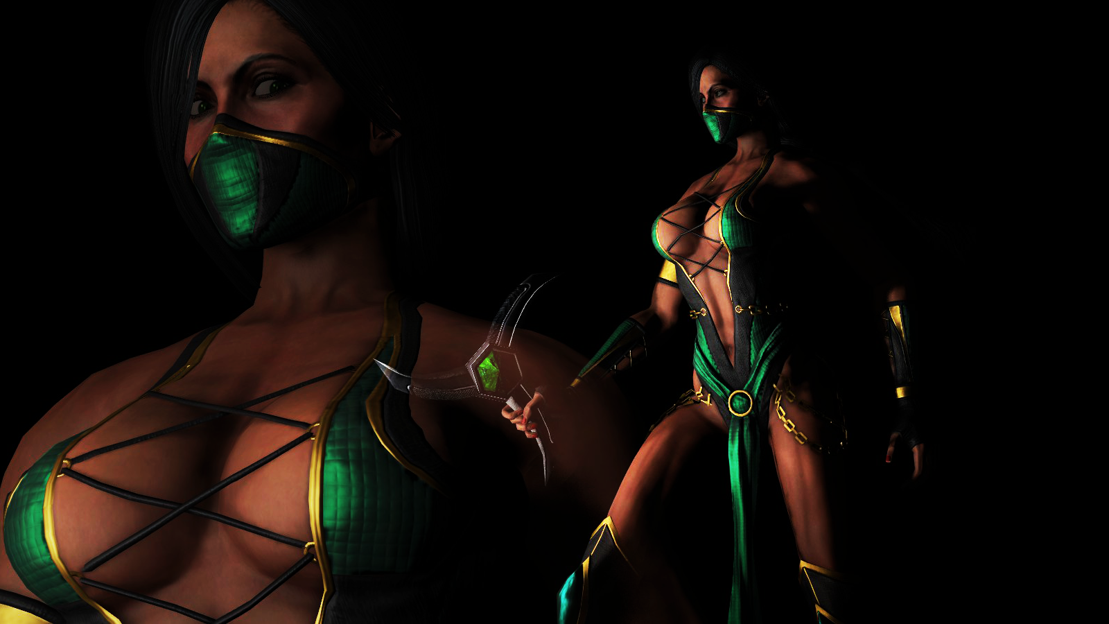 Pics of jade in mortal kombat 9  hentai images