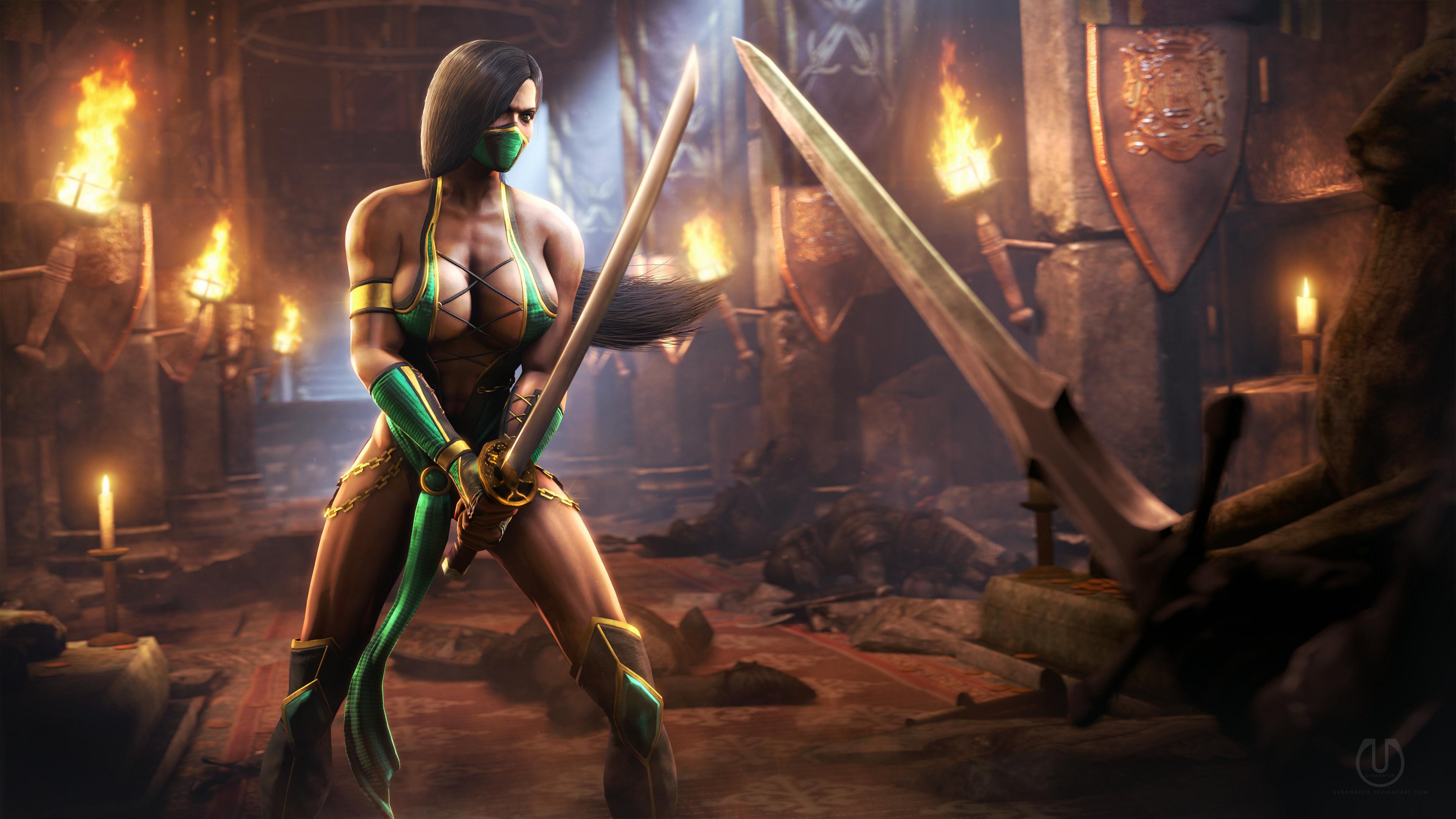Mortal kombat 9 jade naiked pron image