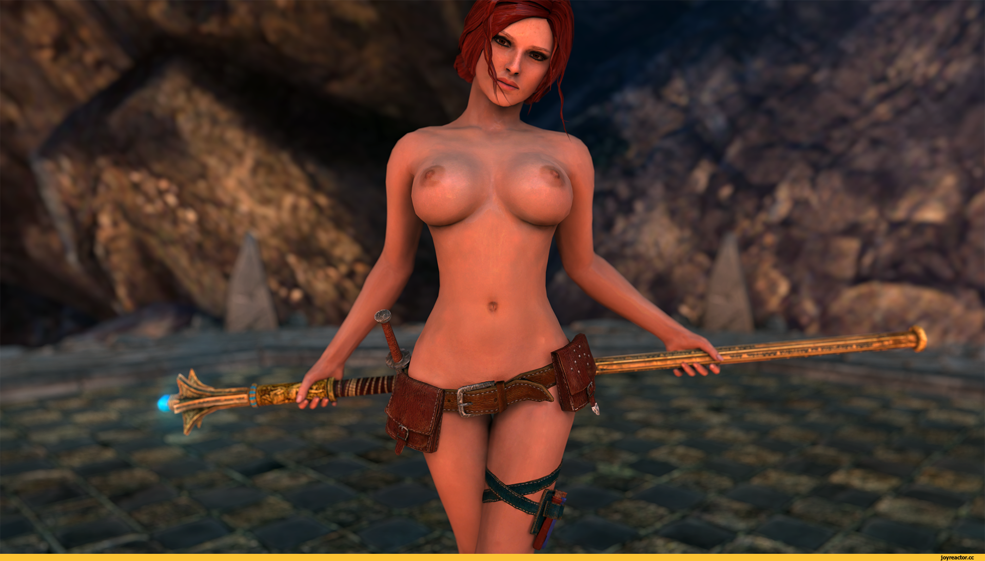 Witcher 3 sexy naked fan art hardcore clips