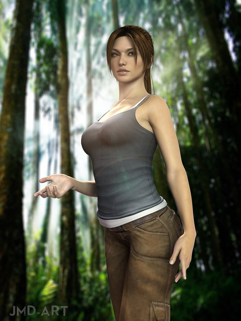 Lara croft 3d alien erotic sexgirls