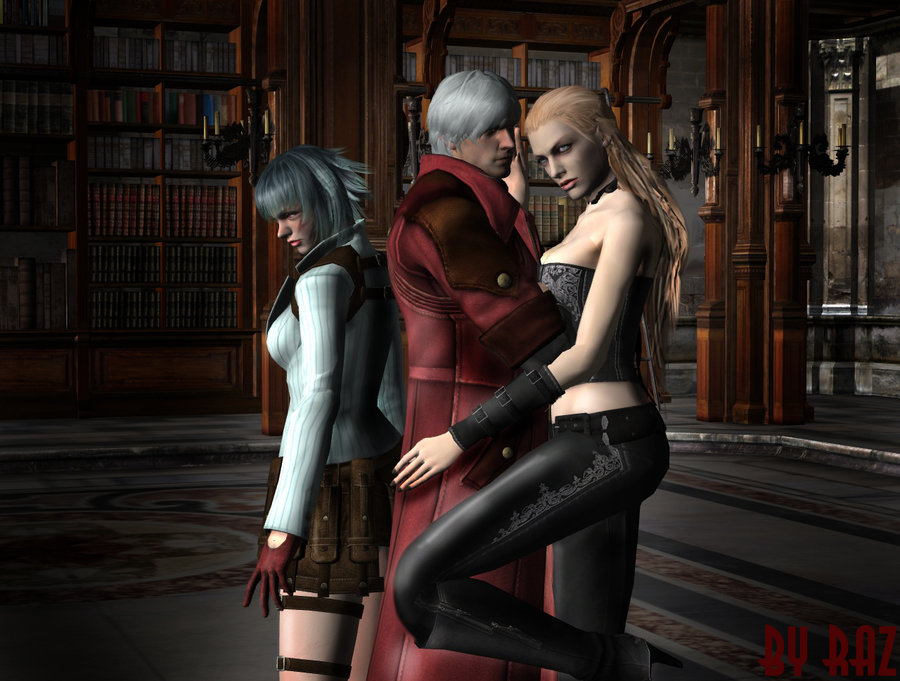 Секс порно эротика с триш с леди devil may cry