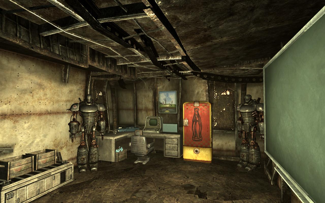 Fallout 3 мой дом в мегатонне интерьеры