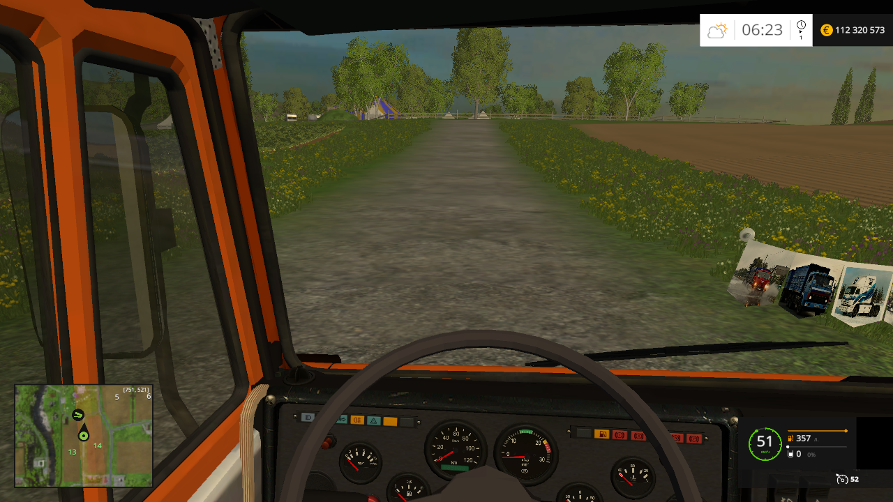 КАМАЗ 45143 - Farming Simulator 15 Мод, Транспорт