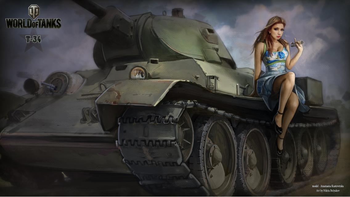photo of girls танки № 31761