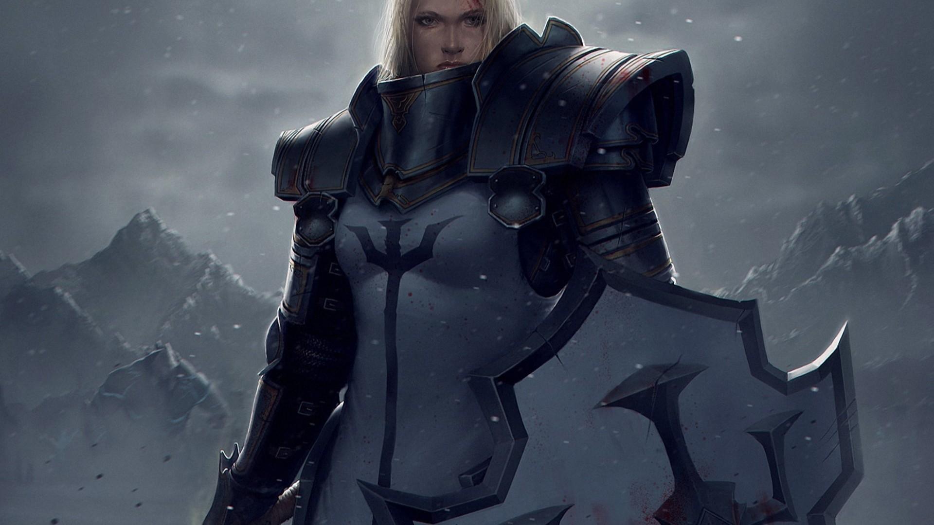 Diablo 3 female crusader porn erotic video