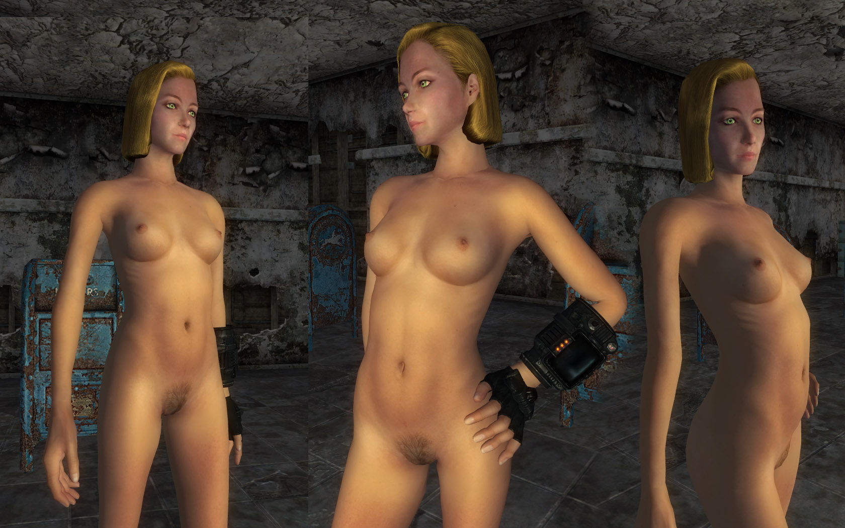 Fallout 3 nude girls mod uncensored porncraft clip