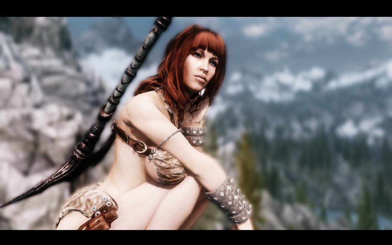 Skyrim orc girl sexy erotic photos