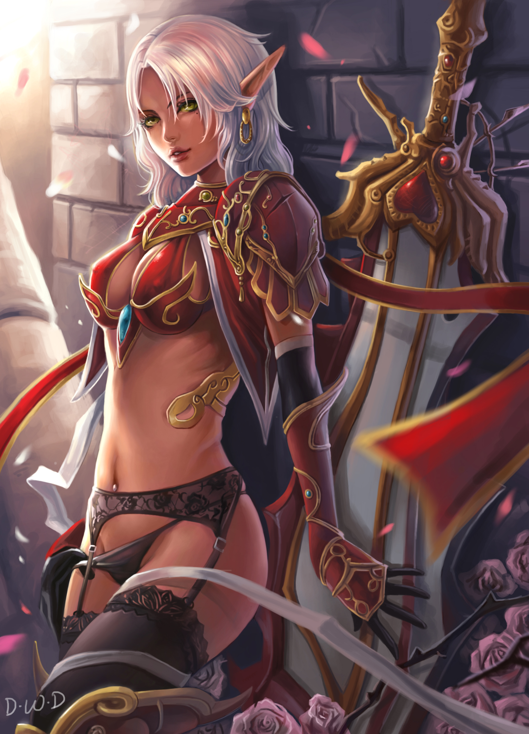 Blood elves girls sexy pictures