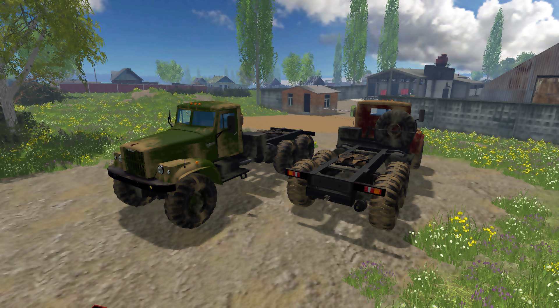 KRAZ 255 b1 MULTICOLOR 1.2 MATT - Farming Simulator 15