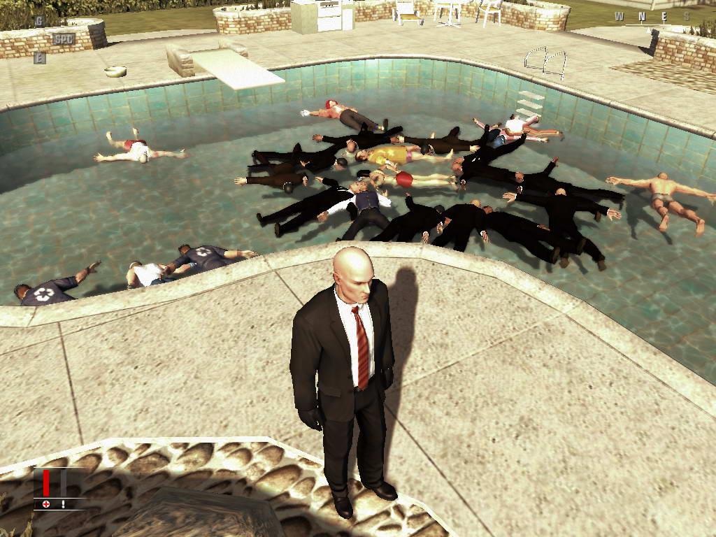 Извращения в Hitman: Blood Money.